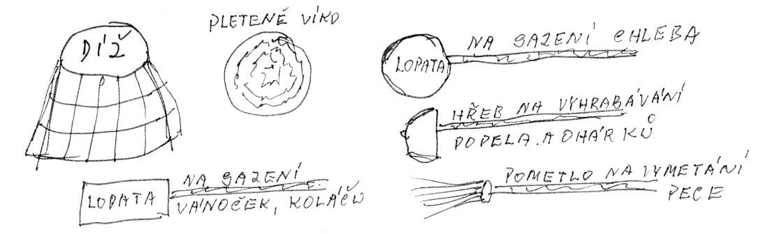 Nástroje k pečení chleba