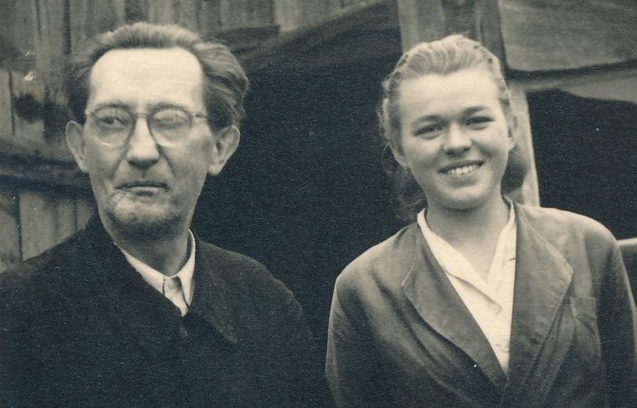 Josef Brousek a Naděžda Malá